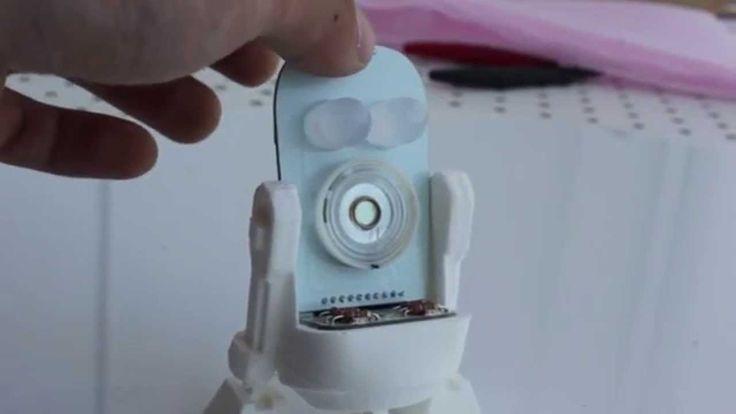 Little Robot Friends can sing! Learn how on our website. http://www.littlerobotfriends.com/ #Robots #DIY #Songs