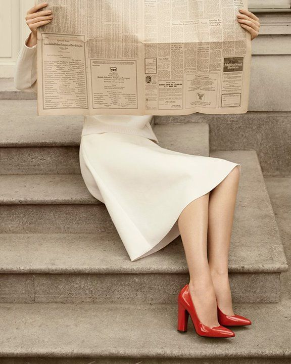 red shoes make you look smart