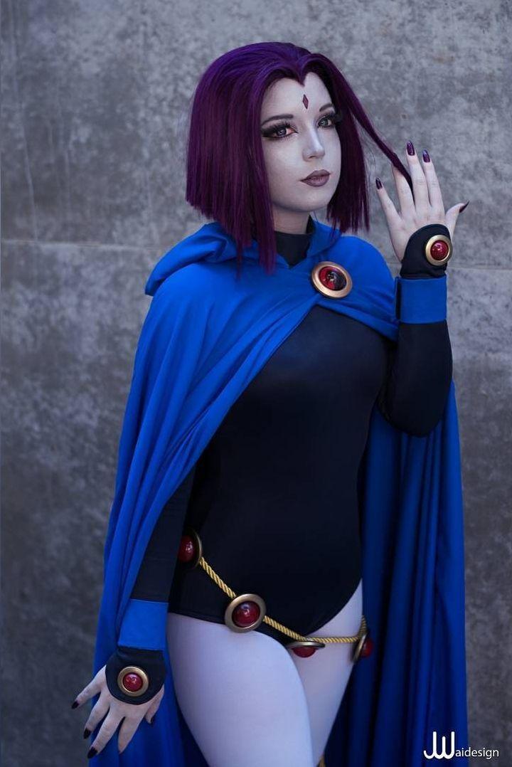 Raierae Cosplay - Raven - Cosplay - Teen Titans  Teen T I T A N S -6912