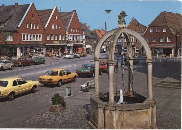 Alte Postkarte - Stadtlohn - Markt