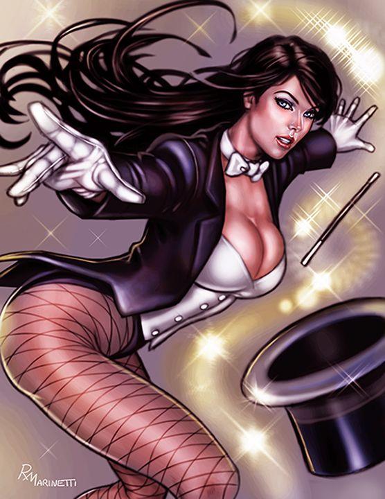 Kết quả hình ảnh cho zatanna DC comic artwork