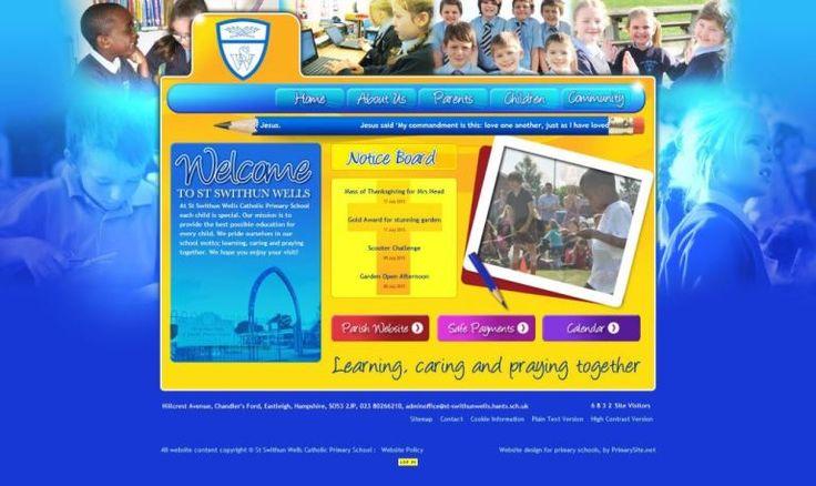St Swithun Wells Home Page