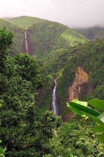 Guadeloupe, Les chutes du carbet ~ fait 10.2004 ♥