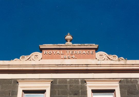 Royal Terrace, Fitzroy / RBA