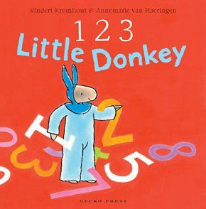 123 Little Donkey - Rindert Kromhout - Gecko Press - Gecko Press