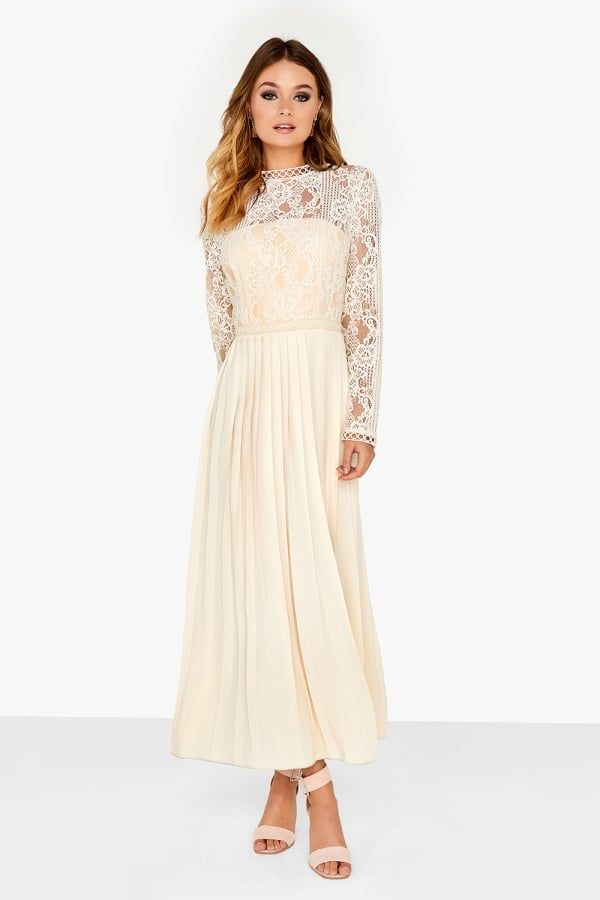 3e2843e3de1a Little Mistress Kristie Cream Lace Dress | wedding dress ...