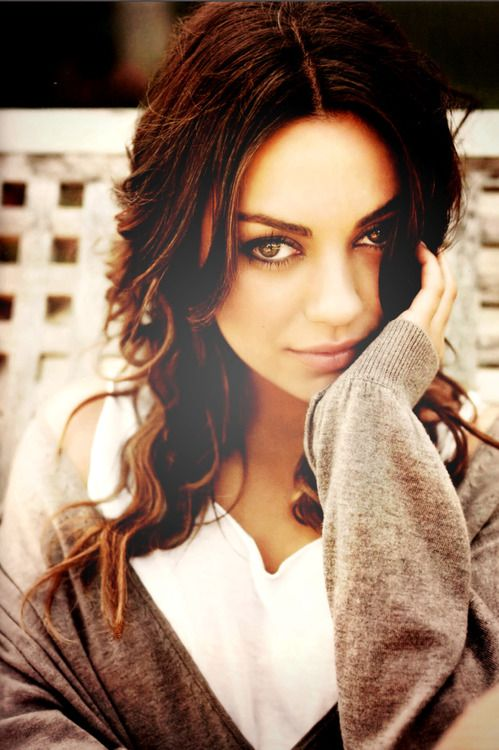 Mila Kunis - she makes me want to go back to a brunette....