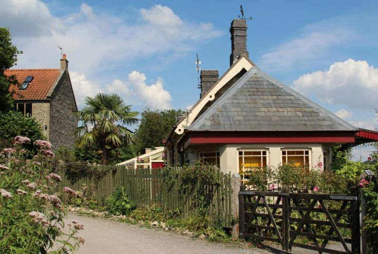 The Old Station, Wellow, Somerset (about five miles south of Bath) where Peter Blake and his then wife Jann Haworth lived. It was where the Brotherhood of Ruralists first met in 1975.