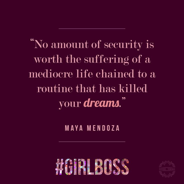 Great quote on never settling. You get one life, live it how you want to, not how society deems you should. #girlboss