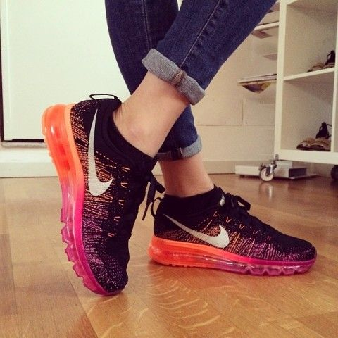 Nike Flyknit Air Max Running Shoes | Spotted on @Chiara Ferragni
