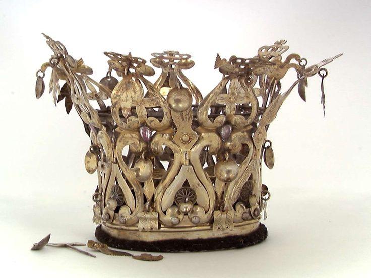 Bridal crown | Norsk Folkemuseum | CC BY-SA