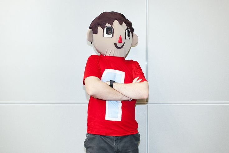 Villager from Animal Crossing at The Russian Comic-Con