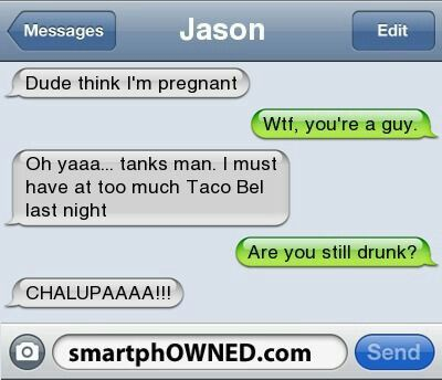 Lol funny text