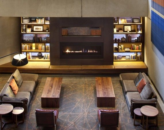 commercial electric fireplace in lobby - Google Search   Holiday ...
