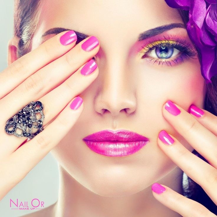 #Pink #style for Nail Or #makeup