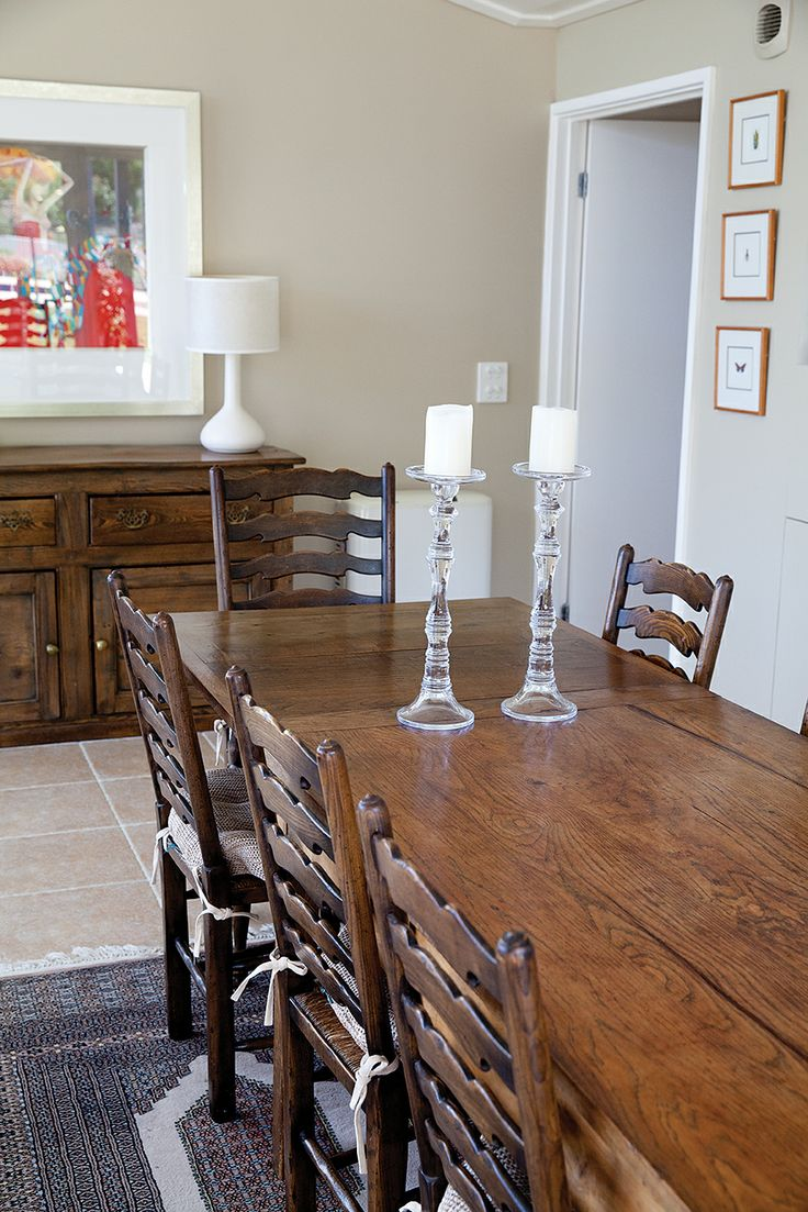 Dining table, Rustic dining
