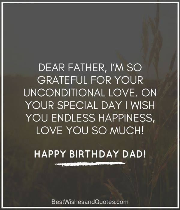 Birthday Wishes Dad Quotes: 36 Best Happy Birthday Dad Images On Pinterest