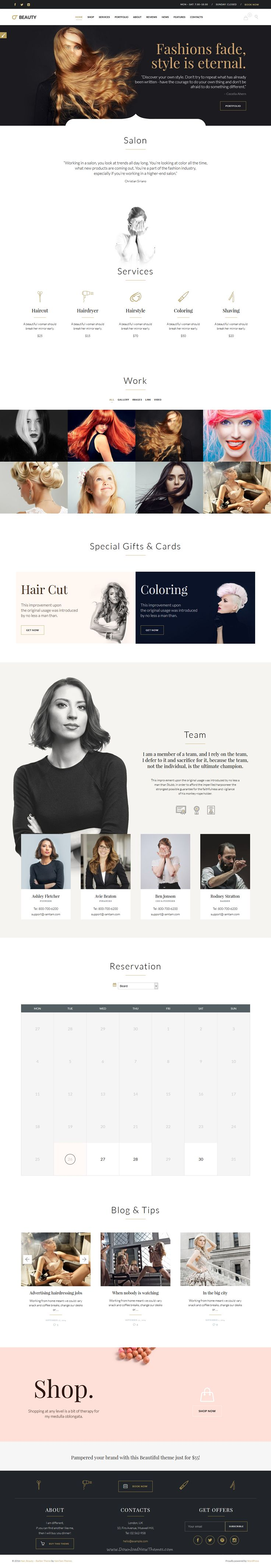 Beauty Hair Salon is wonderful multipurpose 5 in 1 #WordPress Theme for Hair #Salon , Barber Shop or Beauty Salon website download now➝ https://themeforest.net/item/beauty-hair-salon-theme-for-hair-salon-barber-shop-and-beauty-salon/15344439?ref=Datasata