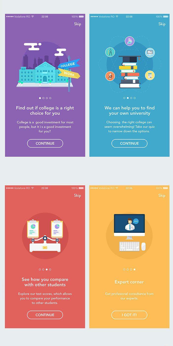 UI设计灵感:40个美丽的APP启动页 | 设计达人