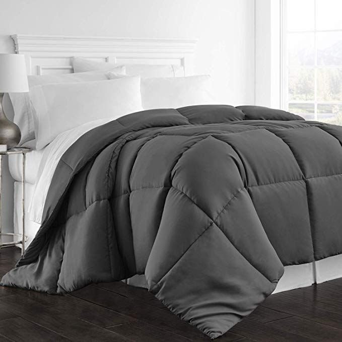 Amazon Com Beckham Hotel Collection 1300 Series All Season Luxury Goose Down Alternative Comforter Hypoalle In 2020 Cool Comforters Comforters Cozy Luxury Linen