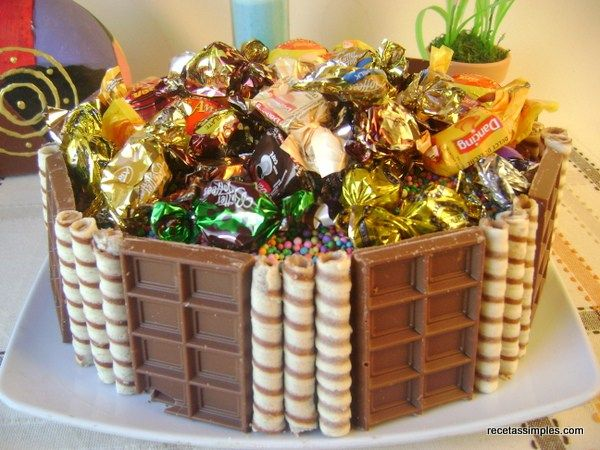17 Best images about ♥Tortas de golosinas / Candies cakes