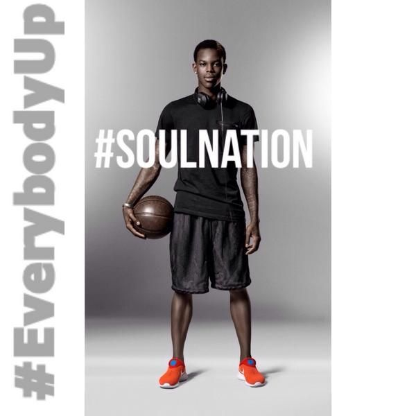 The #NBA is back tonight. Good luck this season @DennisMike93! #SoulNation #HawksNation #EverybodyUp