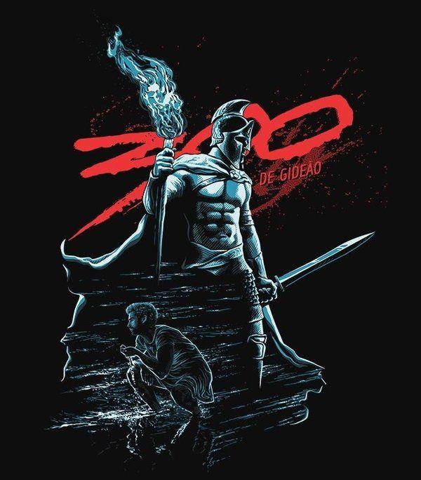 Camiseta - 300 de Gideão                                                                                                                                                     Mais