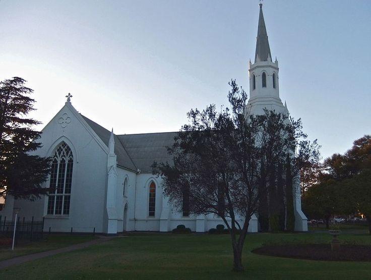 Dutch Reformed Gedenkkerk in Middelburg, Mpumalanga Province, South Africa built in 1890.