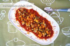 Yoğurtlu Kavrulmuş Biber Salatası Tarifi - Kevser'in Mutfağı - Yemek Tarifleri