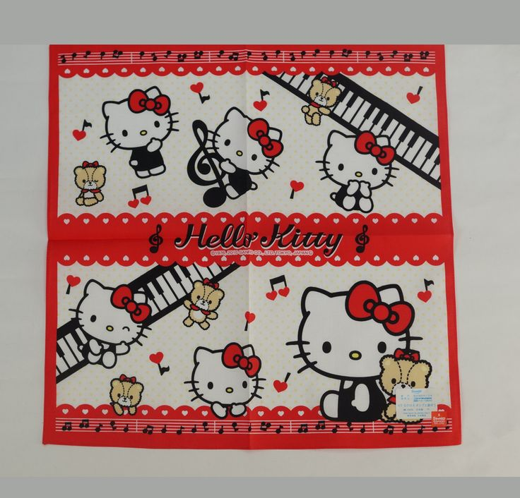 #HelloKitty : Handkerchief  http://www.japanstuff.biz/ CLICK THE FOLLOWING LINK TO BUY IT ( IF STILL AVAILABLE ) http://www.delcampe.net/page/item/id,0377295421,language,E.html