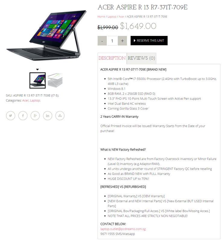 Nice Cheap laptop + Asus Laptop Singapore + Refurbished laptop