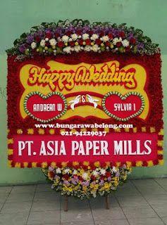 Bunga Pernikahan Gedung Puspa Pesona Taman Anggrek | Toko Bunga by Florist Jakarta