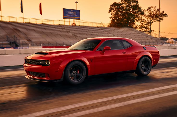 Here It Is: 2018 Dodge Challenger SRT Demon Drags Its First Official Photo Online