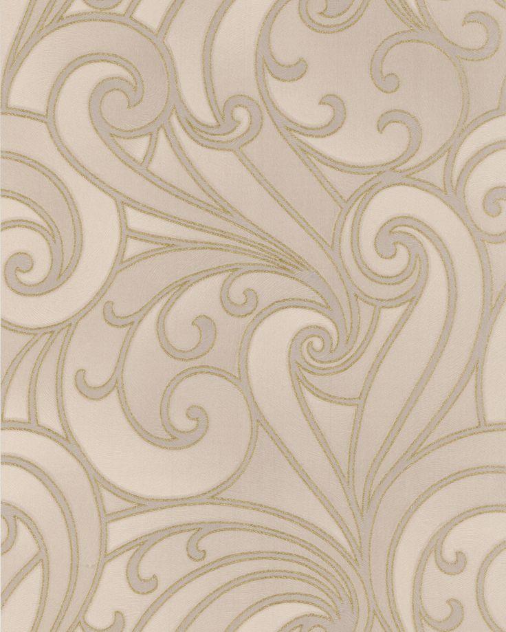Saville Beige Wallpaper Custom Wall Covering Designs