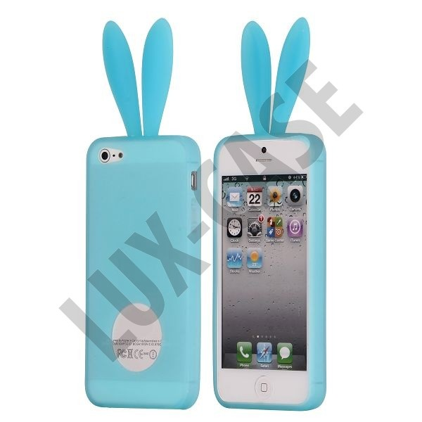 iPhone 5 vaaleansiniset pupu suojakuoret!