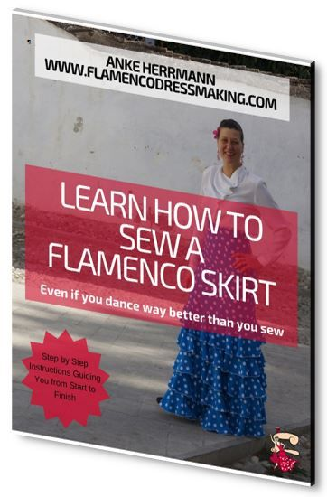 Learn How to Sew a Flamenco Skirt - Free pdf