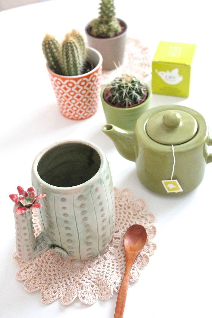 Urban Jungle Bloggers: Plants & Tea via @labombetta