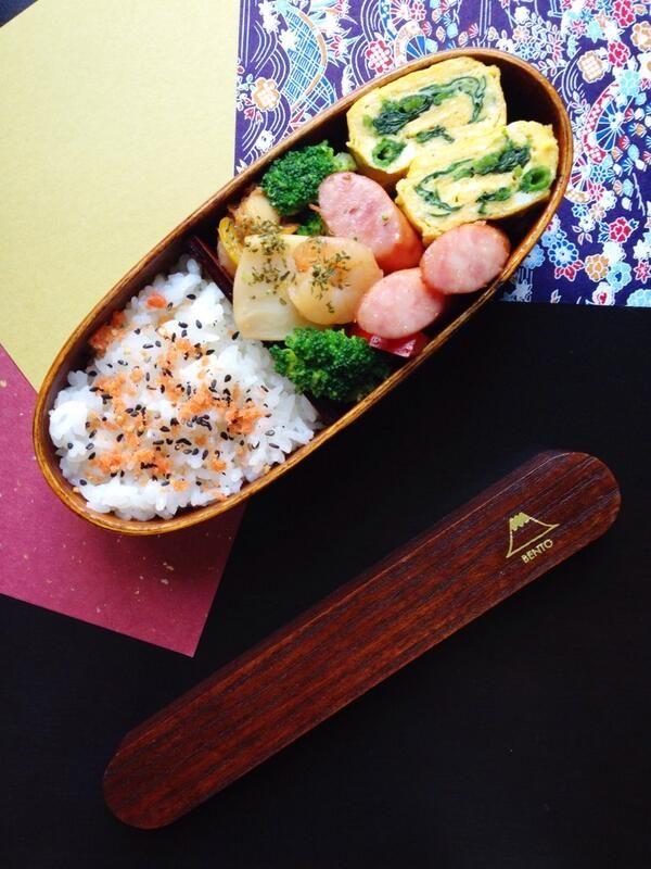 posted from @reycord_2013 鮭フレークご飯、シーフードとパプリカとブロッコリーのバター醤油ソテー、ウィンナー、ほうれん草の中華風卵焼き♪…