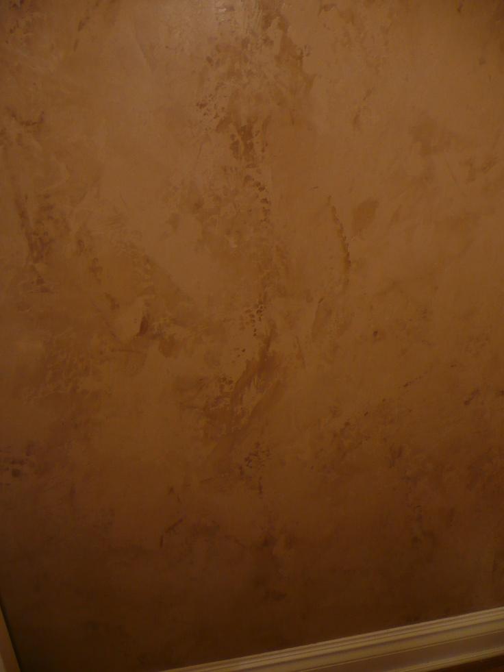 Pin By Venetian Plaster Art On Venetian Plaster On The: Close Up Of Two-toned Venetian Plaster Walls