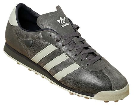 adidas vintage. adidas vintage turf grey leather trainers