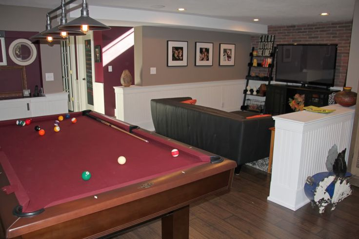 the finished basement remodel insofast panels were used to retrofit