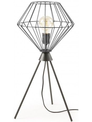 Una strana lampada, dal particolare design futuristico. Il paralume molto minimal diffonde, splendidamente, luce in tutta la stanza.