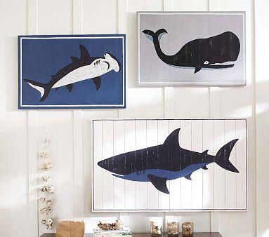 Sea Animal Plaques #PotteryBarnKids