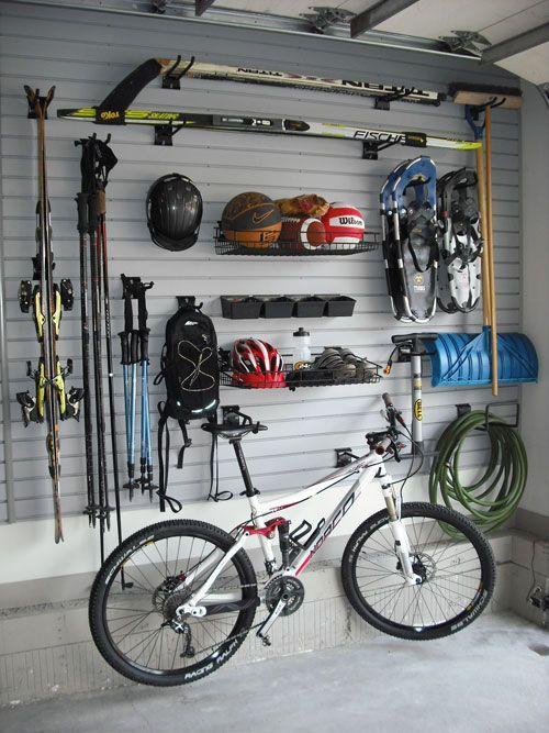 81 best images about slat wall on pinterest - American motorbike garage ...