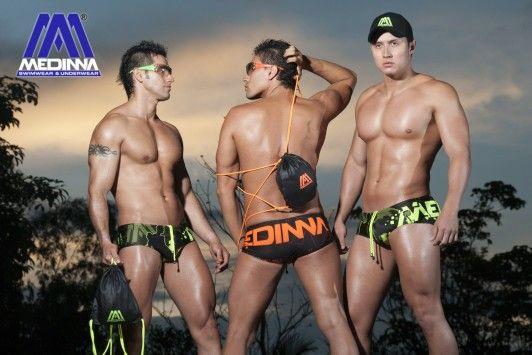 MEDINNA COLLAGE COLLECTION 2014  swimwear