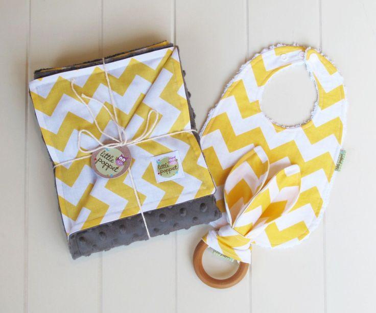 Sunny Chevron Essential Poppet gift set