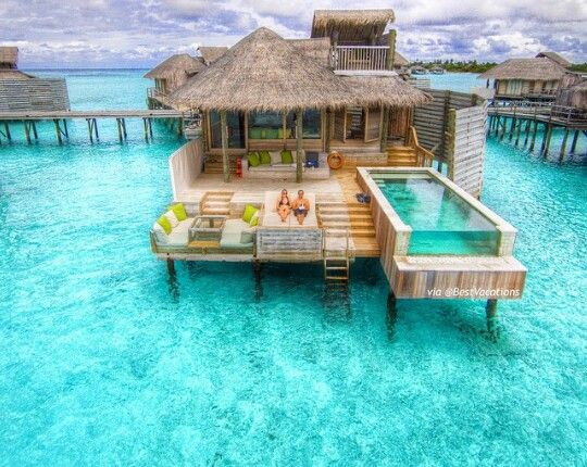 Tropical vacation in the Maldives