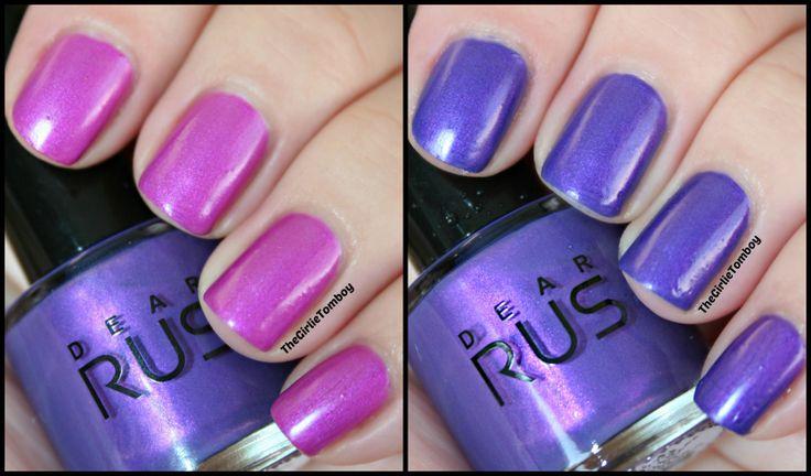 dear rus color change nail polish