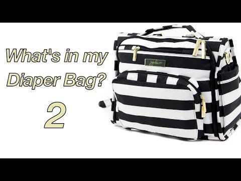 ▶ What's in my Diaper Bag #2 JuJu Be BFF First Lady - YouTube