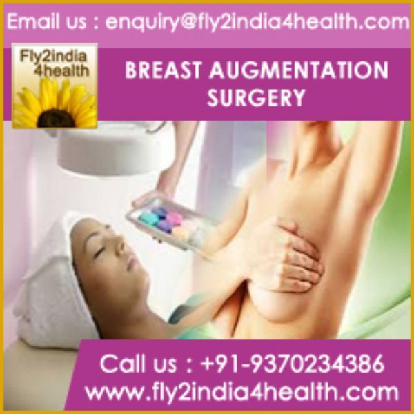 -Breast augmentation surgery is very popular procedure in India to give attractive contours to the breast. Most women from international destinations are coming to get low cost plastic surgeries at cosmetic clinics of Mumbai and Delhi through the medical assistance of renowned health tourism companies like Fly2india4health.